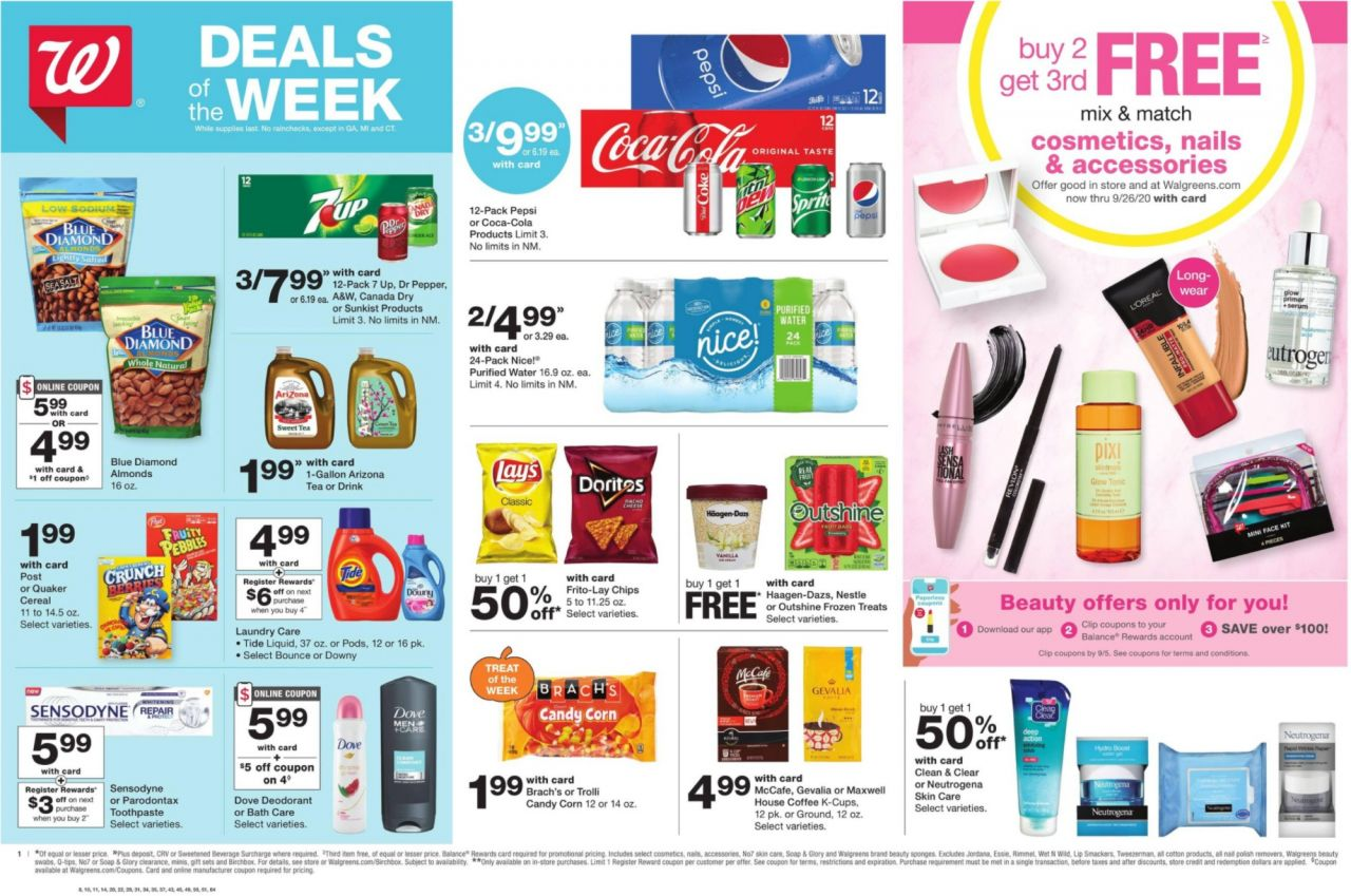 Walgreens flyer in 2020 Beauty coupons, Weekly ads