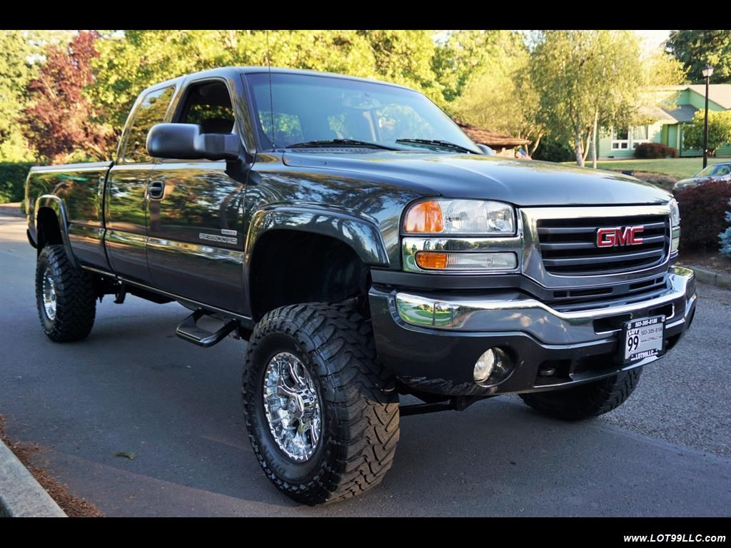 hight resolution of 2003 gmc sierra 2500 4x4 6 6l 127k turbo diesel duramax 6 speed manual