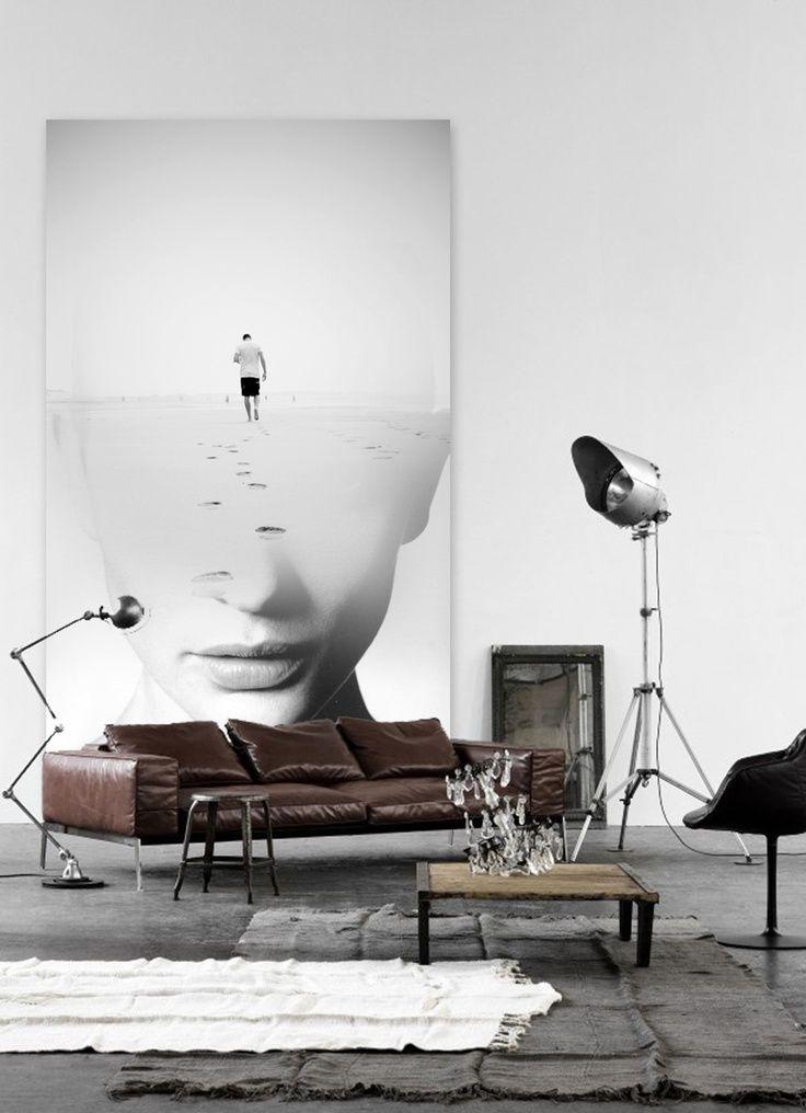 Pin von Sharon Karam auf Things for My Wall Pinterest - moderne wohnzimmer wandbilder