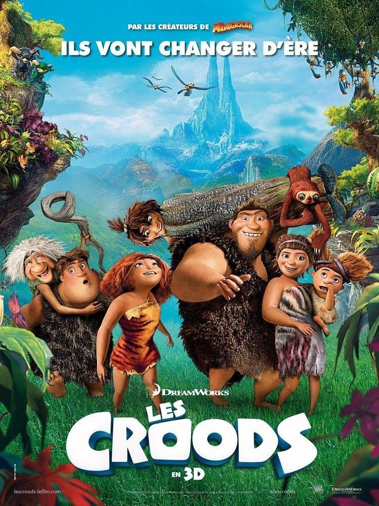 The Croods Poster Francés Peliculas Infantiles De Disney Películas Infantiles Peliculas