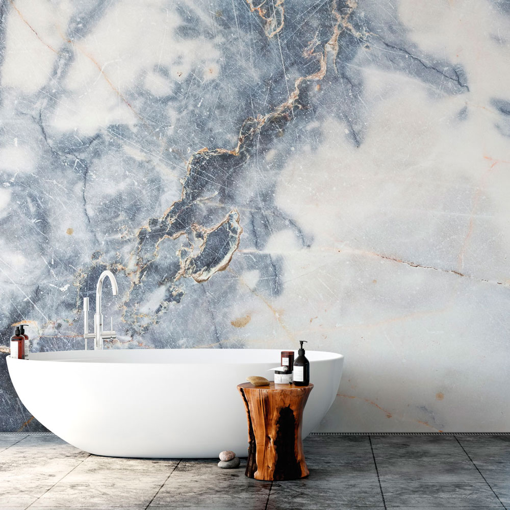 Wallpaper Trends 2021 Floral Toile Large Scale Designs Setting The Scene Bathroom Wallpaper Murals Marble Wallpaper Marble Wall Mural