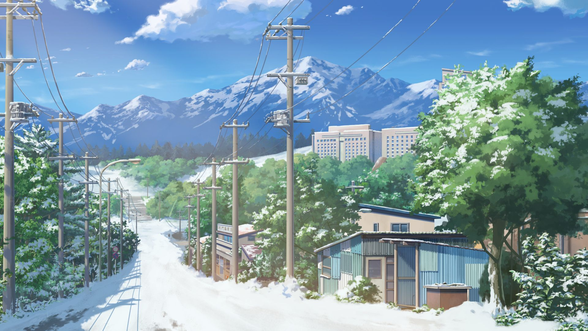 Anime Japan Cityscape Wallpaper Cenario Anime Wallpaper Paisagem Wallpapers Bonitos