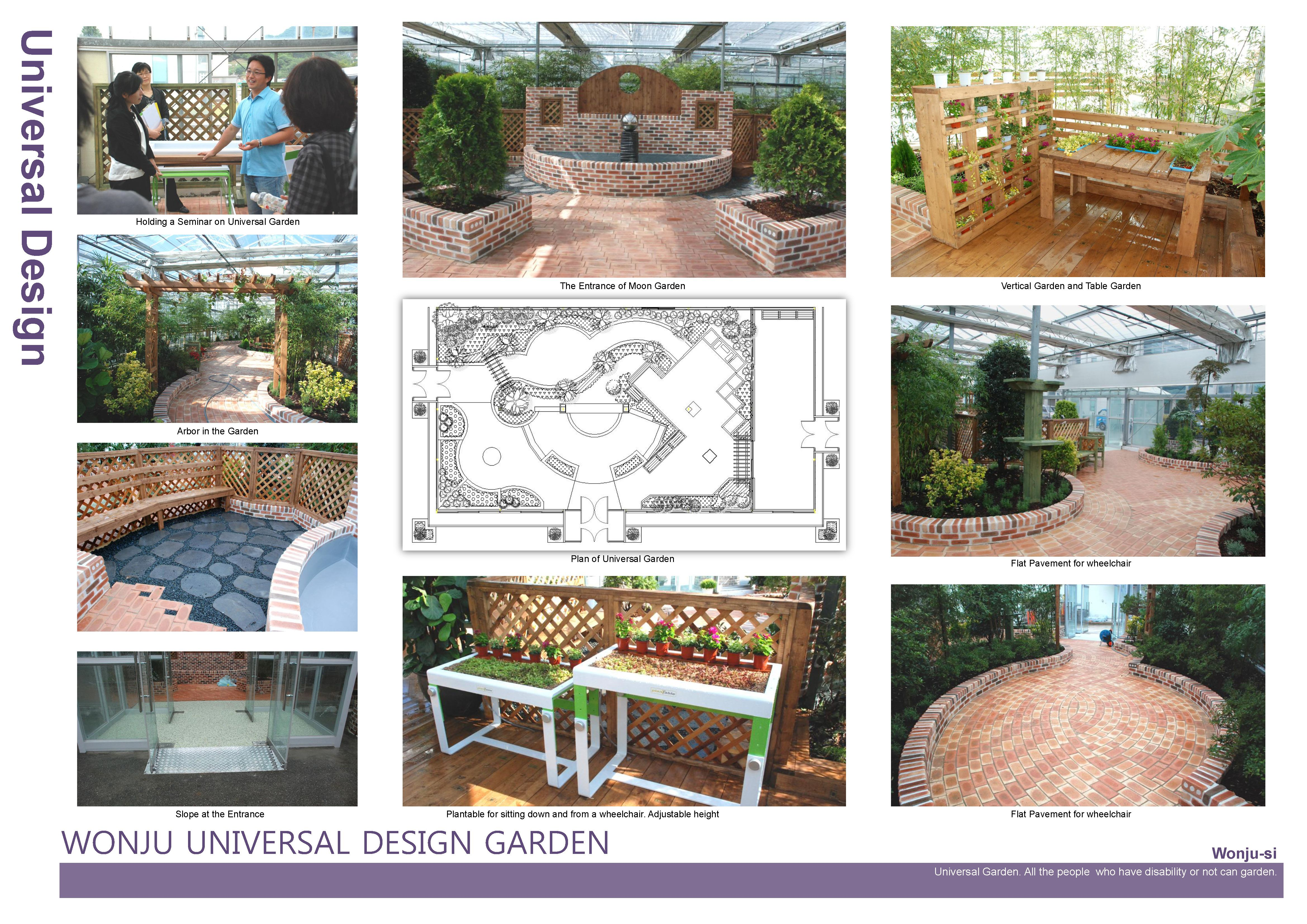 I 39 m going to made horticultural therapy garden for people for Garden design ideas for disabled