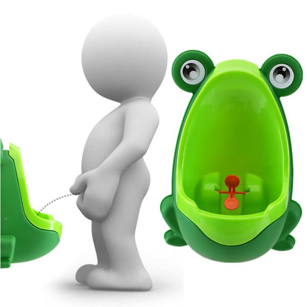 Baby Kid Children Potty Urinal Toilet Training Boy Bathroom Frog Pee Trainer