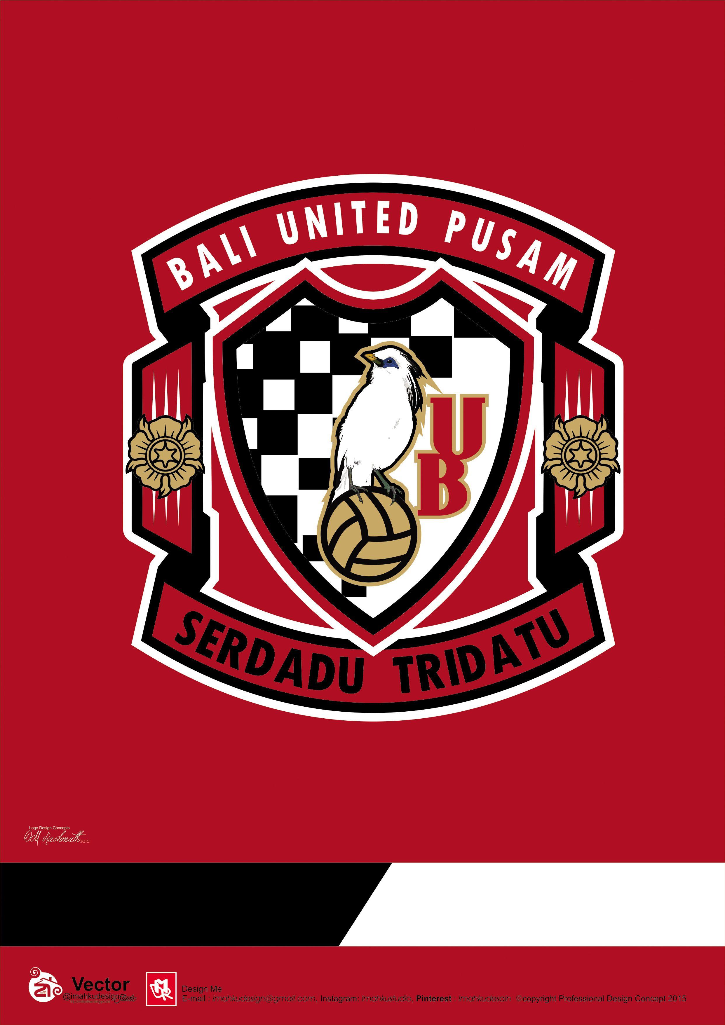 Bali United Logo Concept Pinterest Gambar