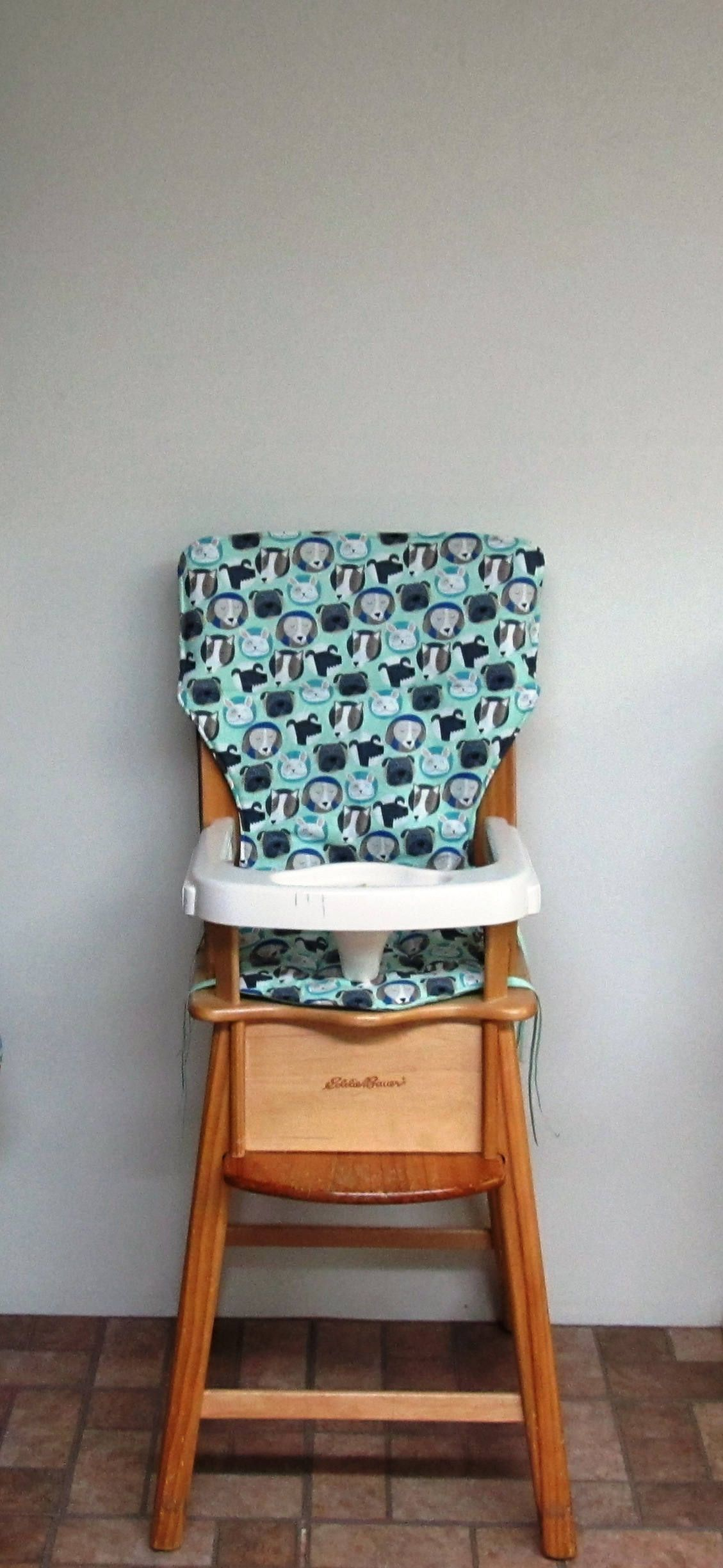 Eddie Bauer Chair Pad High Chair Cover Jenny Lind Chair Cover