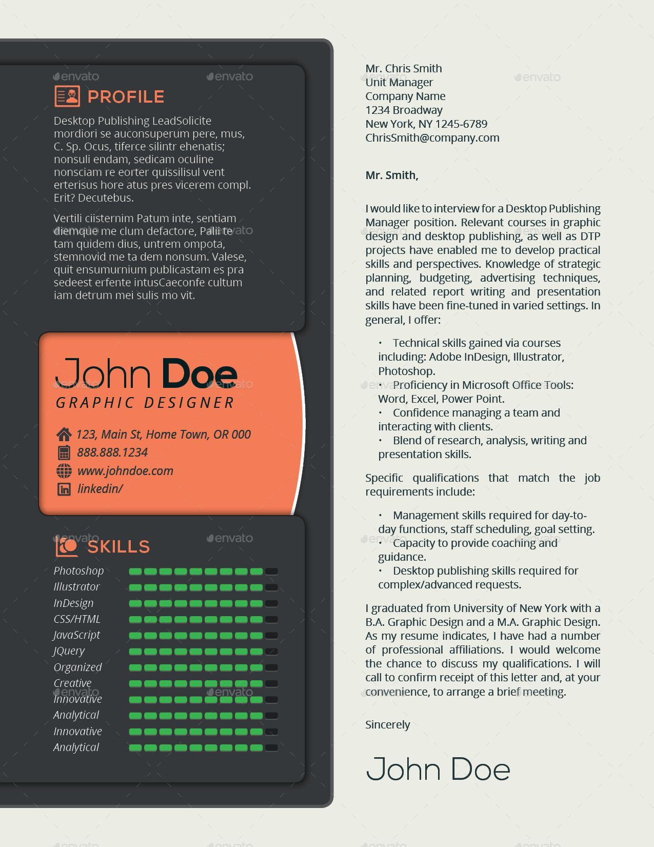 3 In 1 Deal Resume Template Icons Business Card Watch Dial Template Resume Template Templates Resume