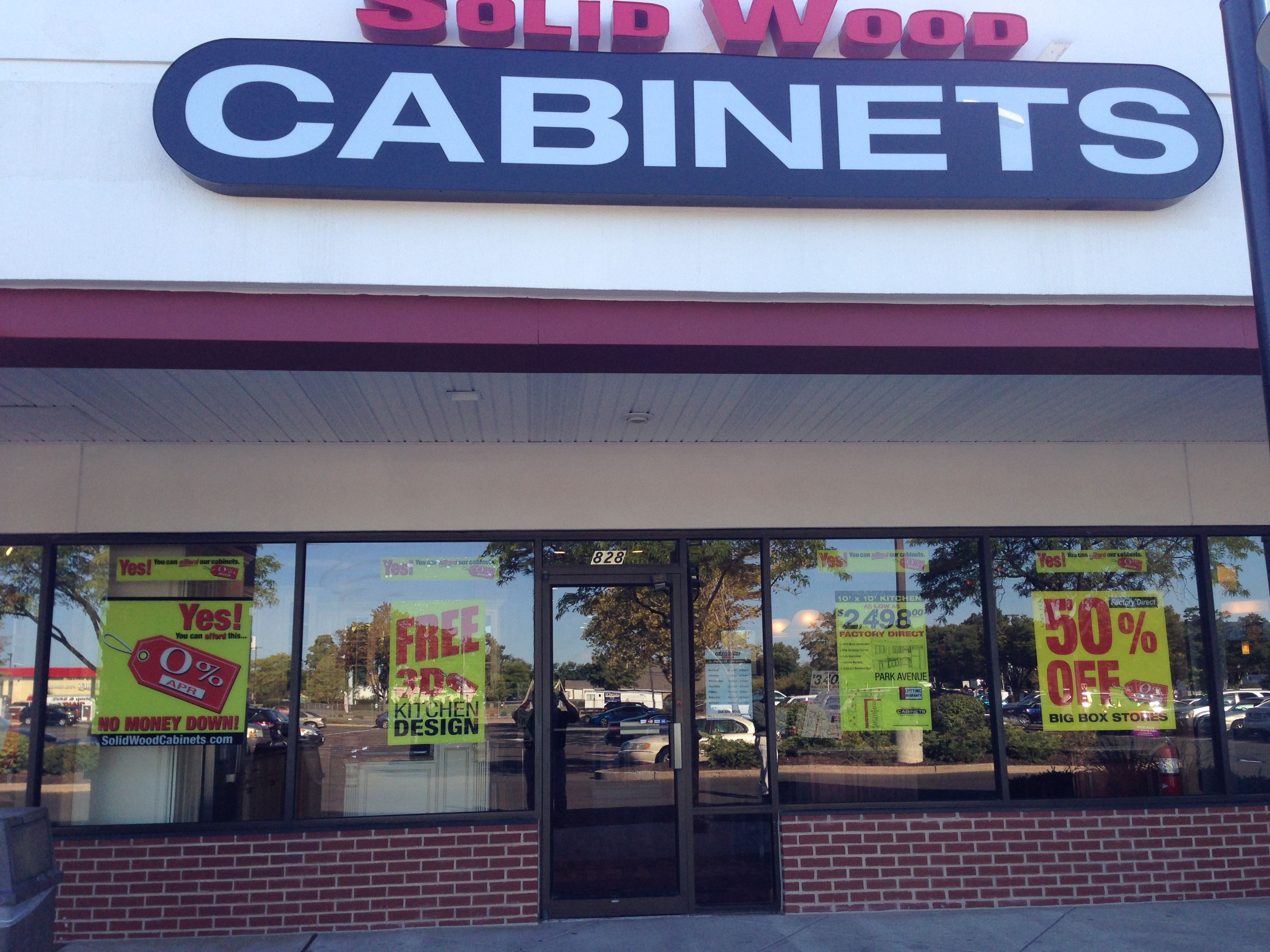 The Solid Wood Cabinets Company Showroom In Warminster Pa Center Point Place 828 West Street Road 18974 267 587 0603