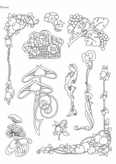 """Photo From Album """"Art Nouveau Designs"""" On En 2020"""