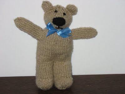 Knit Teddy Bear Tutorial Knit Free Tutorial Teddy Bear