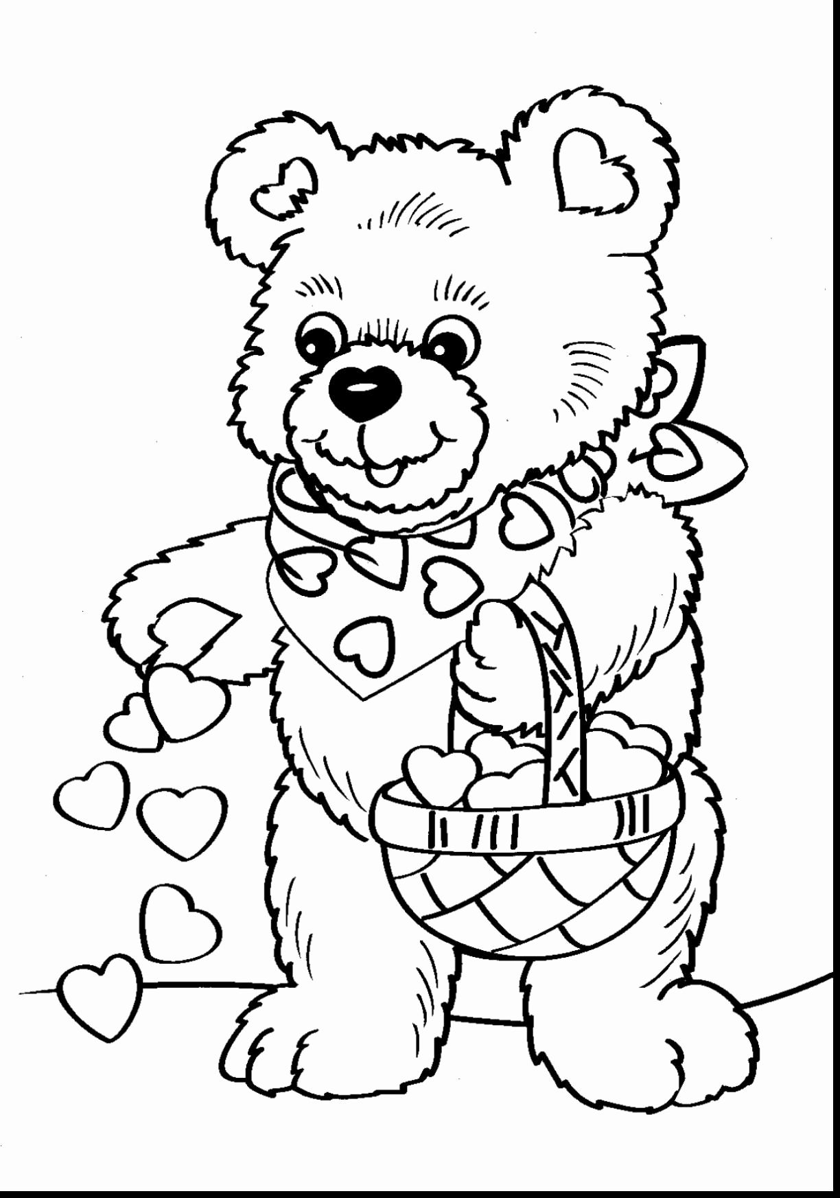 Kids Disney Valentine Day Coloring Pages  Coloriage st valentin