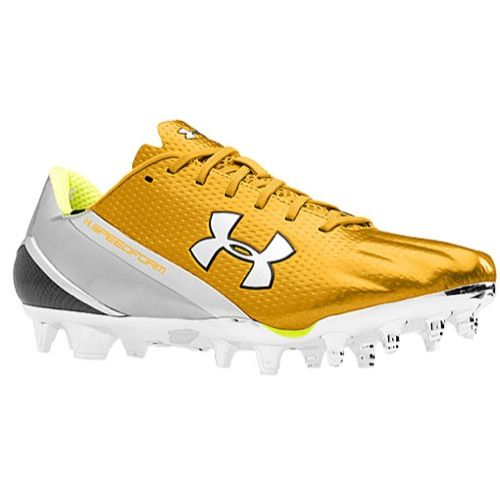 all gold under armour cleats
