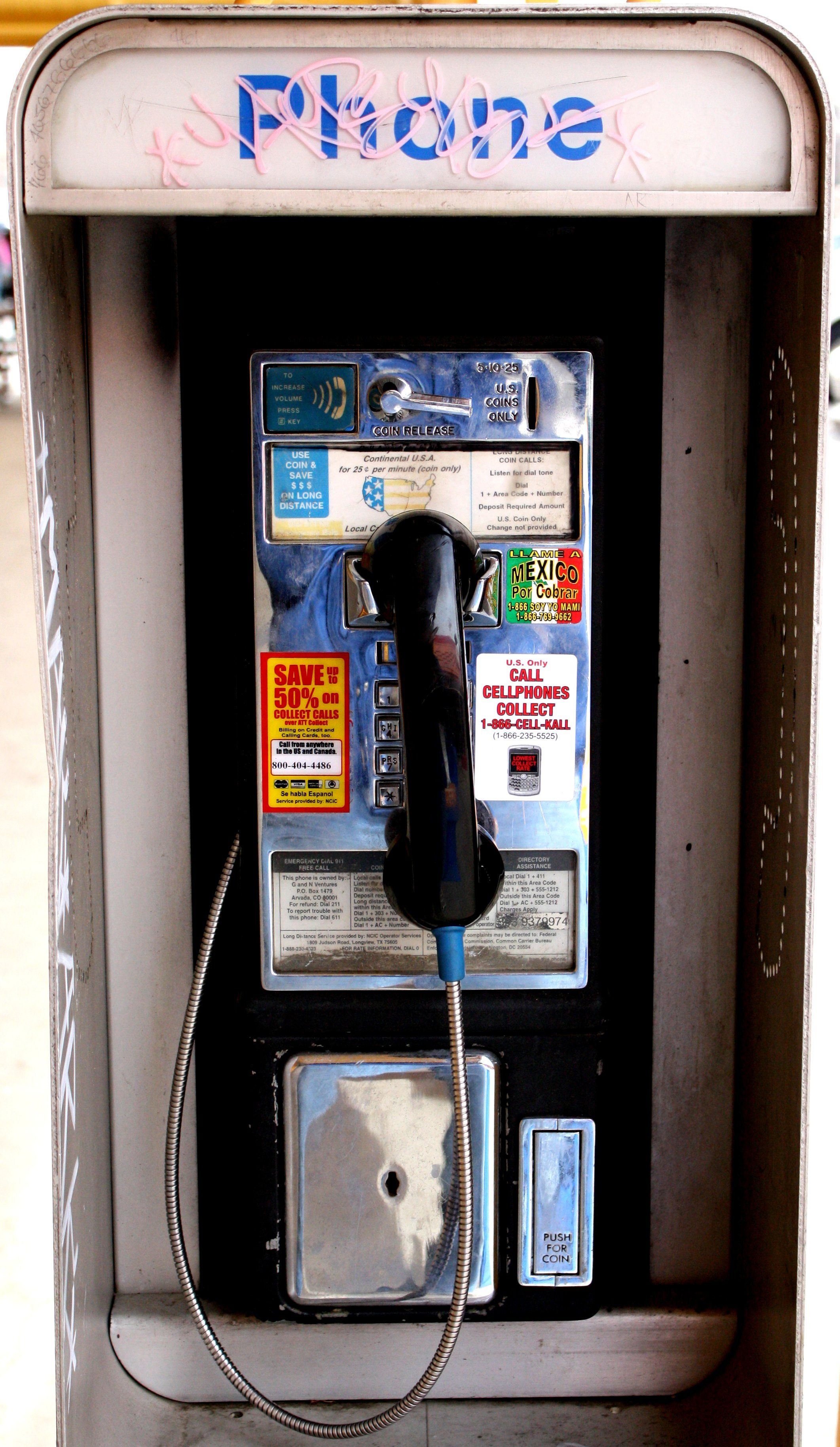 Pay Phone I remember when they were
