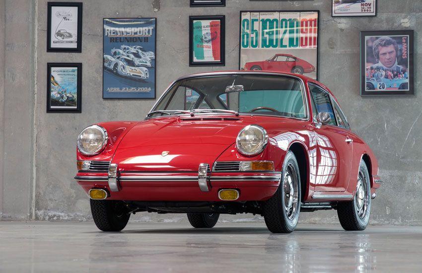 SURVIVOR 901: One of the Earliest Porsche 911s Turns 50 - April 2015 #Porsche