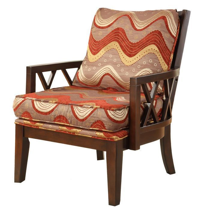 Stockport Cotton Arm Chair