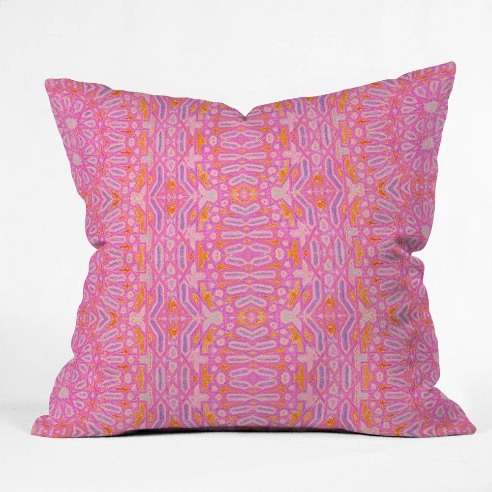 Amy Sia Casablanca Hot Pink Throw Pillow | Pink throws, Casablanca ...