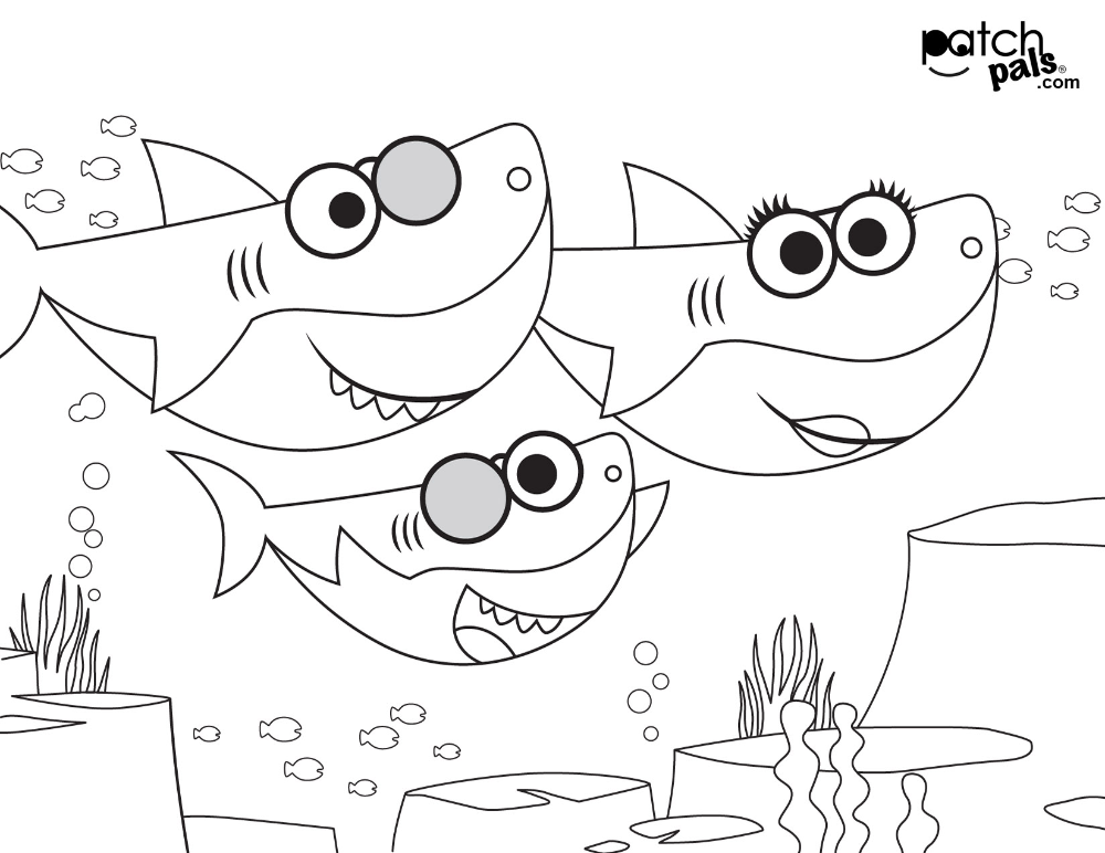 Baby Shark Jumbo Coloring Activity Book Trend