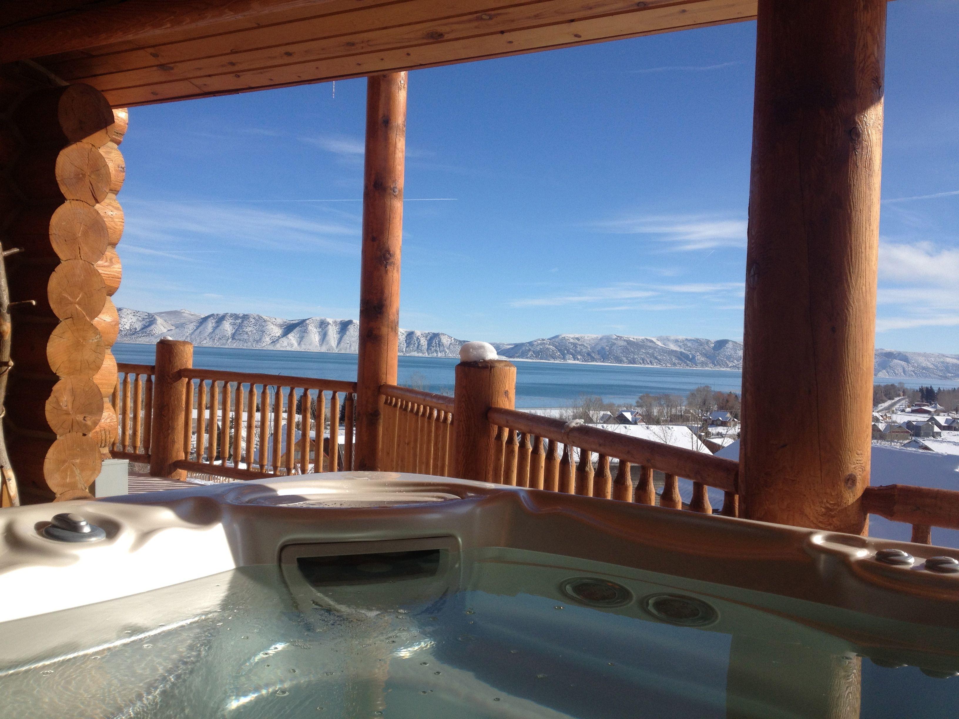 Hot tub install, Bear Lake, Utah   All Seasons Hot Tub & Spa ...