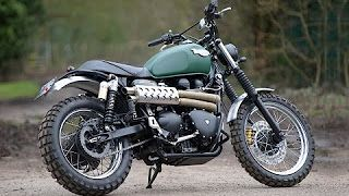 The Difference Between Triumph Scrambler And Bonneville Youtube