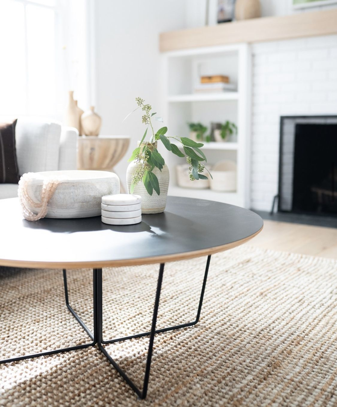 Array End Table Round Minimalist Coffee Table End Tables Coffee Table