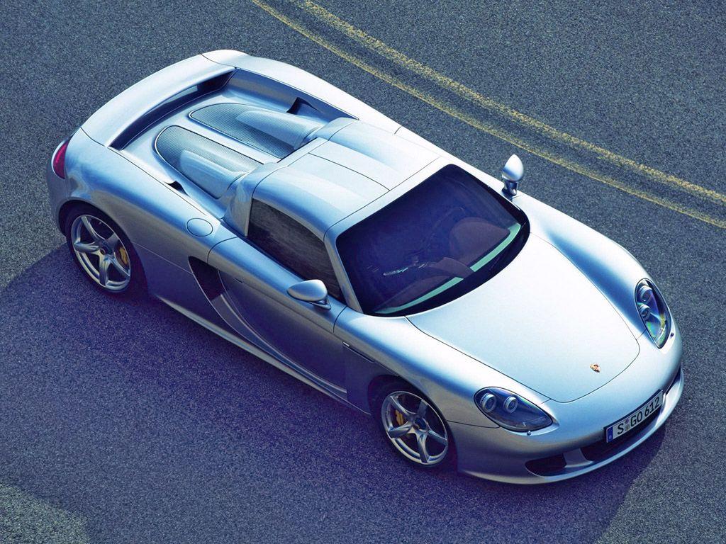 Porsche Carrera GT ConceptSilverTop1024x768