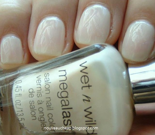 Currently on my nails: Wet n Wild 2% Milk. The best nude for work ...