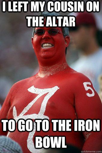 Image result for alabama football fan funny