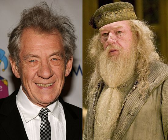 Ian Mckellen As Dumbledore Ian Mckellen Harry Potter Films Actors