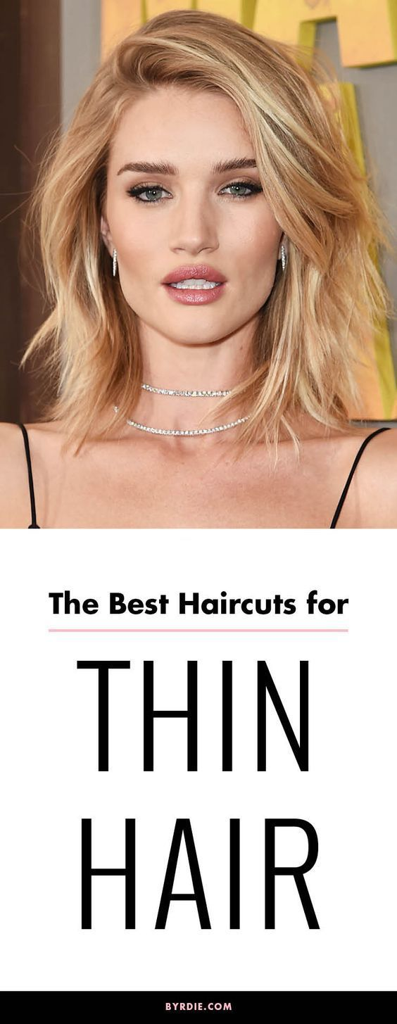 Hairstyles For Thinning Hair It's Official These Are The Alltime Best Haircuts For Thin Hair