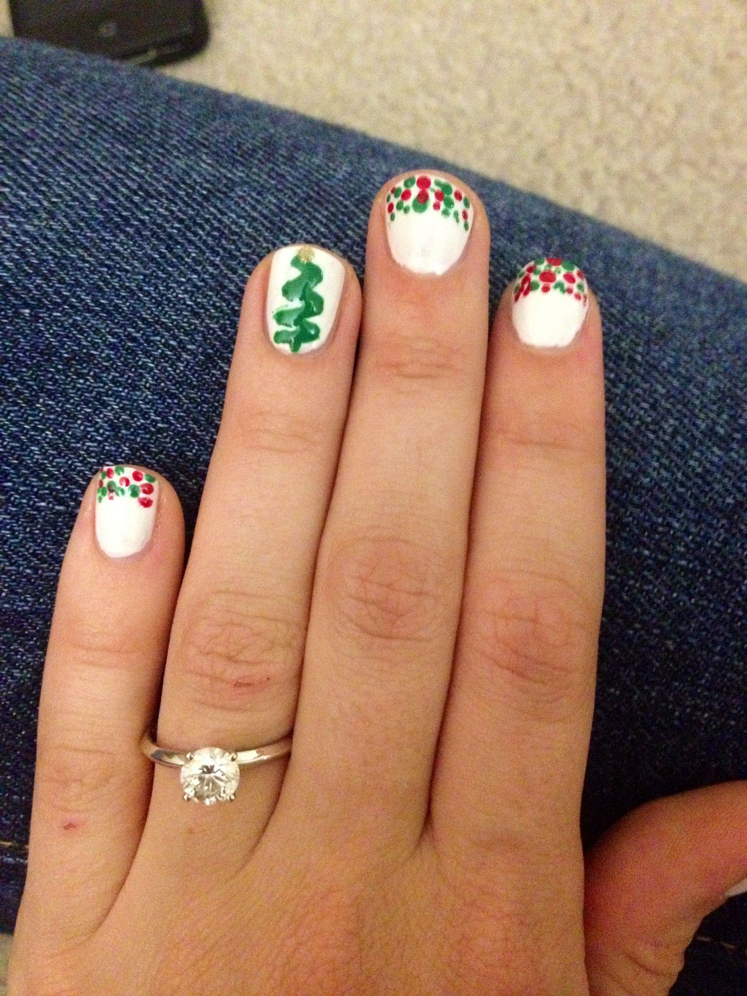 christmas diy nails a nailart fingern gel pinterest n gel fingern gel und nailart. Black Bedroom Furniture Sets. Home Design Ideas