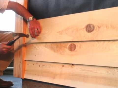 How To Install Cypress Bevel Siding Youtube New Casa