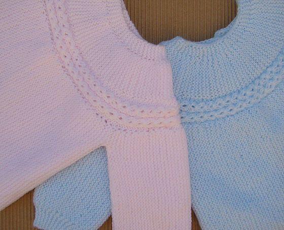 Tutoriales Depunto Dos Agujas Knit Bebé Recien Nacido Newborn Chaqueta Bebe Punto Chaqueta Bebe Punto Bobo Ropa Para Niñas