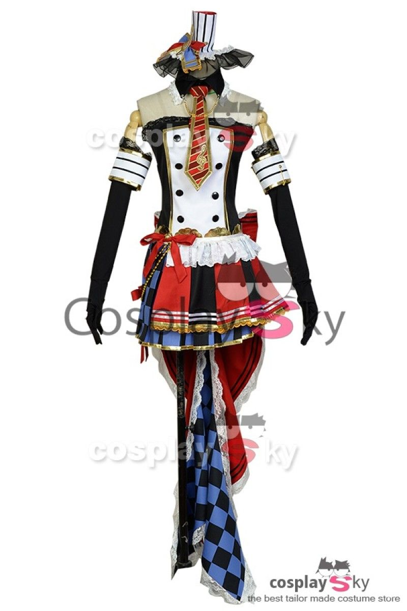 LoveLive! Maki Nishikino Servante De Café Uniforme Cosplay Costume 1 ... d5a2477f1b9f