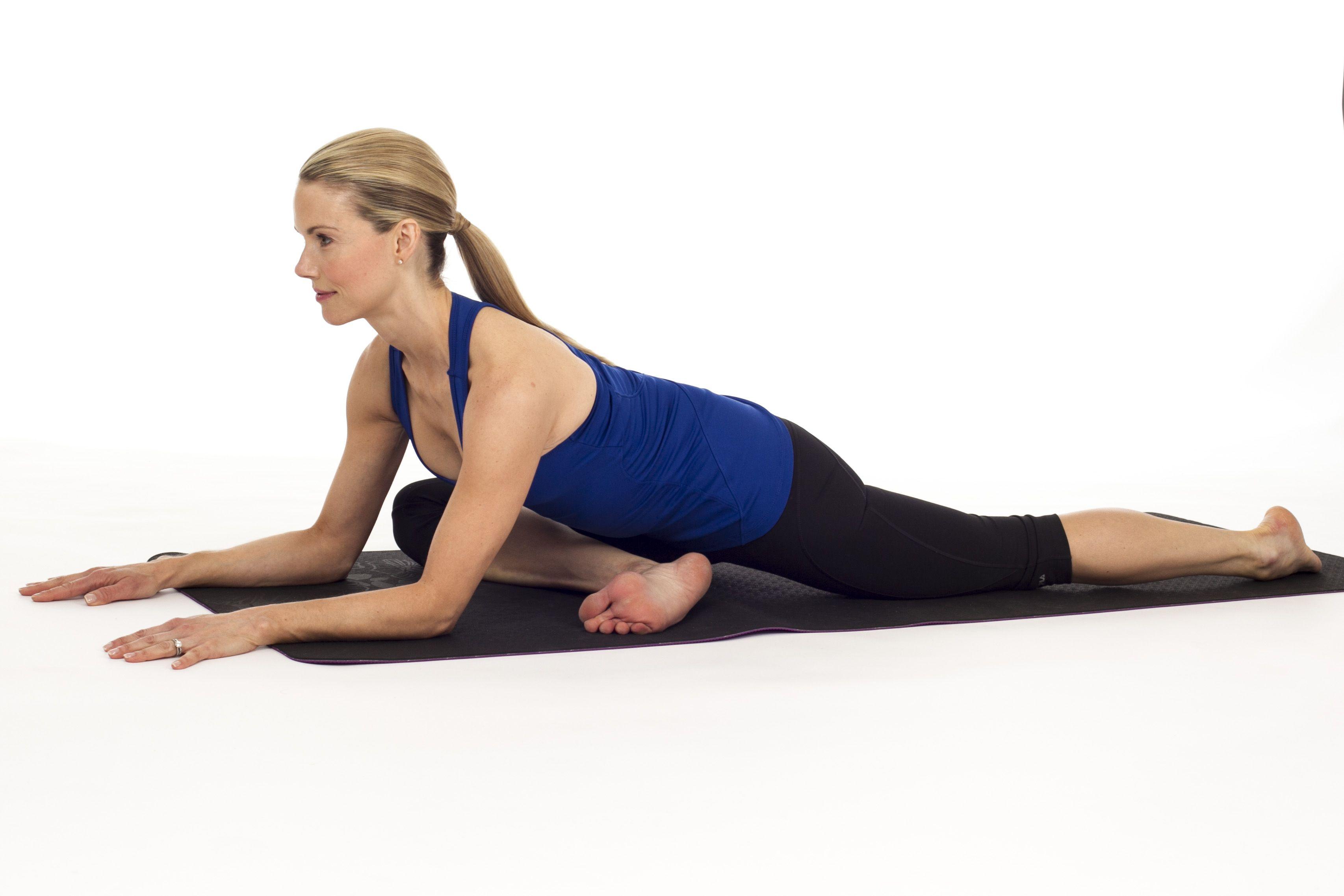 Pigeon Pose Yin Yoga