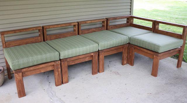 2X4 Outdoor Sectional Diy Outdoor Furniture Pallet 640 x 480
