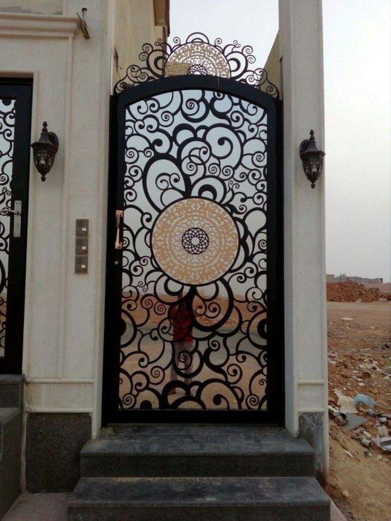 ابواب حديد خارجية 96659841490 Iron Gate Design Steel Gate Design Metal Doors Design