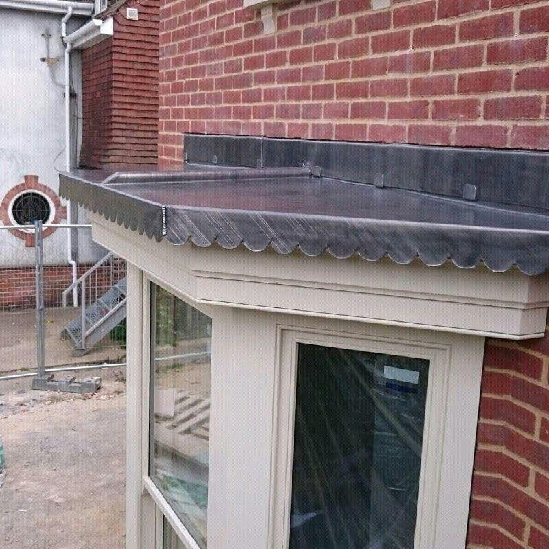 Lead Work Bay Window Bay Window Outdoor Decor Roofer