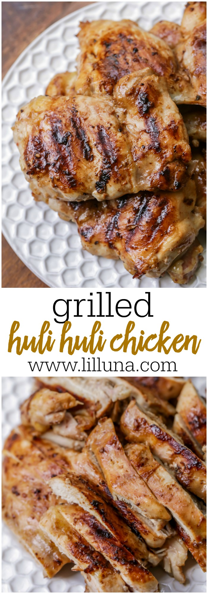 Grilled Huli Huli Chicken Recipe | Lil' Luna