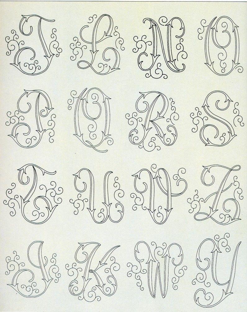Pin di susanna C su monogram   Lettering, Monogram letters ...