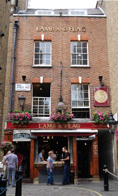 Covent Garden S Oldest Pub The Lamb Flag Irish Pub Design London Holiday Covent Garden