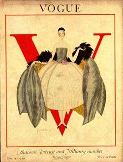 1920 VOGUE. @designerwallace
