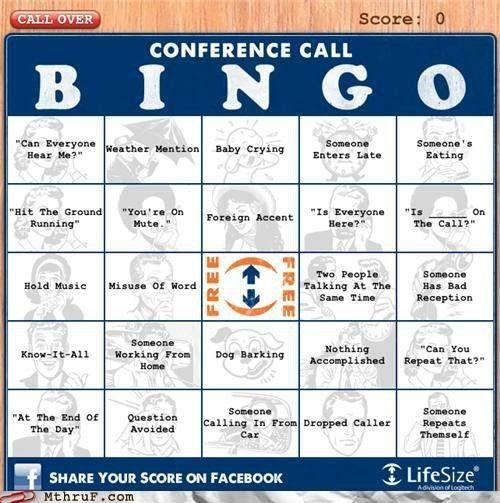 Online Work Bingo