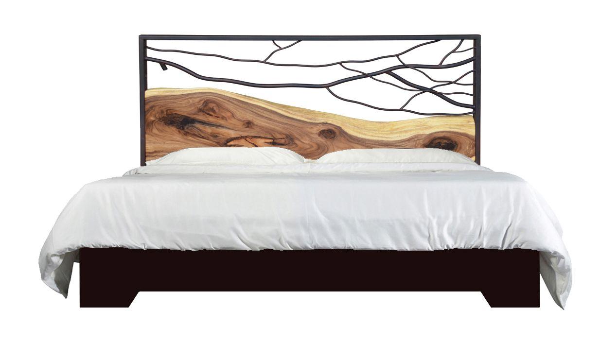 Monkey wood mountain bed u karger gallery live edge headboards