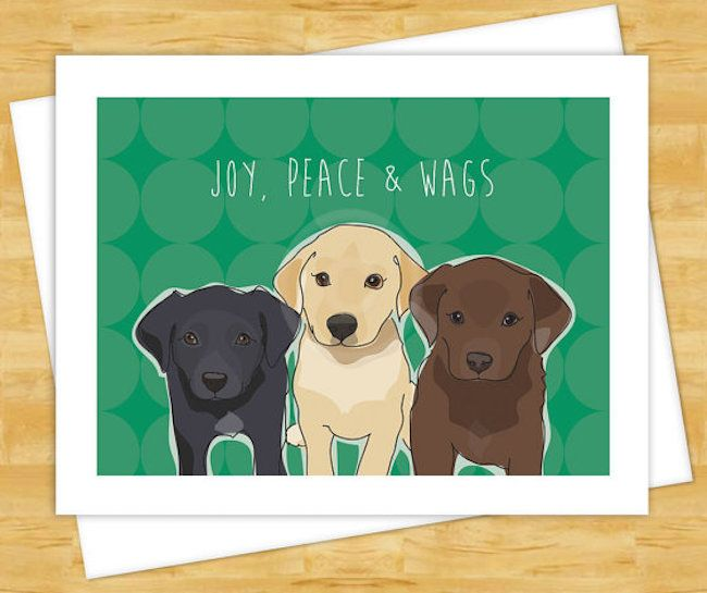 20 More Delightfully Cheery Holiday Greeting Cards For Dog Lovers