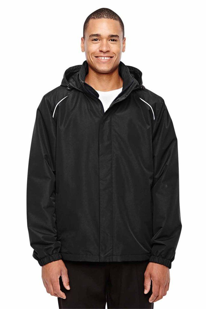 core 365 mens profile fleece lined all season hooded on men s insulated coveralls with hood id=78980