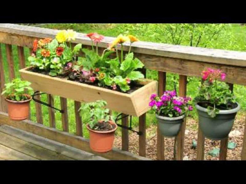 Deck Railing Planter Boxes Balcony Garden Box Balcony Vegetable Gardening Hanging Planters Deck Raili Vegetable Garden Planters Flower Pot Garden Planter Boxes