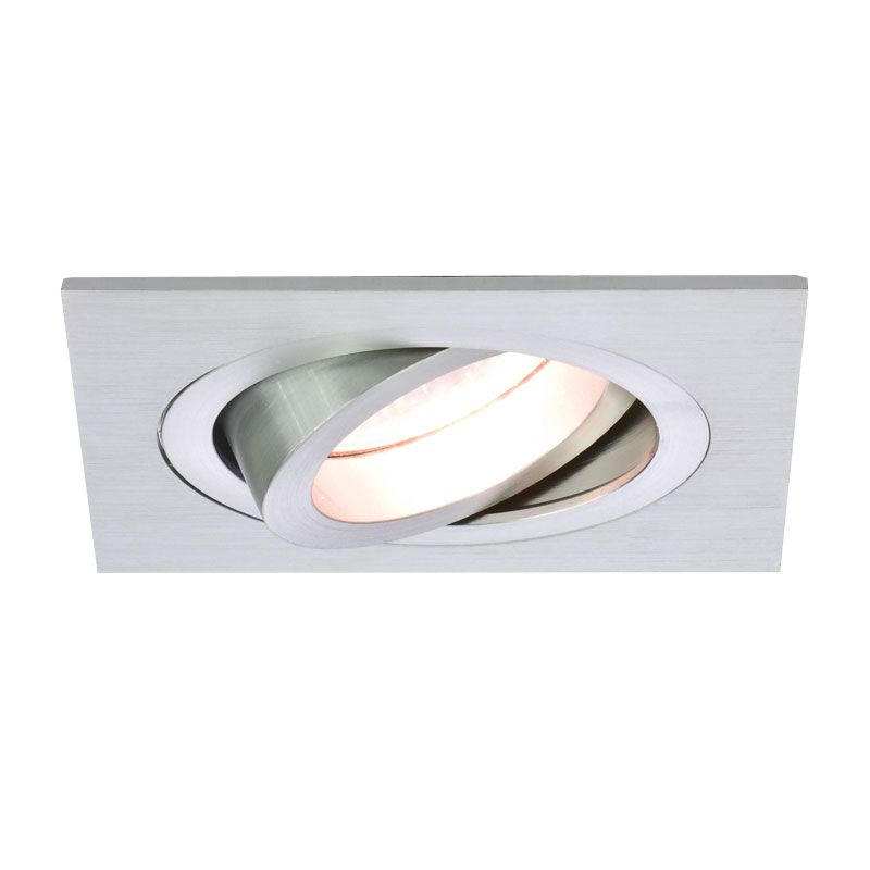 The Taro Single Downlight – Brushed Aluminium is compact and contemporary and can be tilted to 35 degrees.