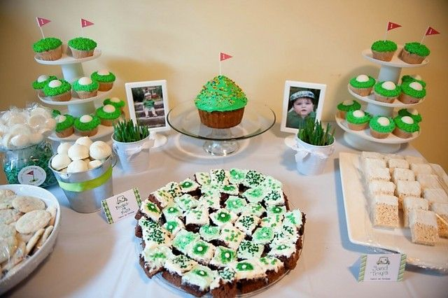 Enjoyable Golf Dessert Table Dessert Tables On Catch My Party Golf Home Interior And Landscaping Pimpapssignezvosmurscom