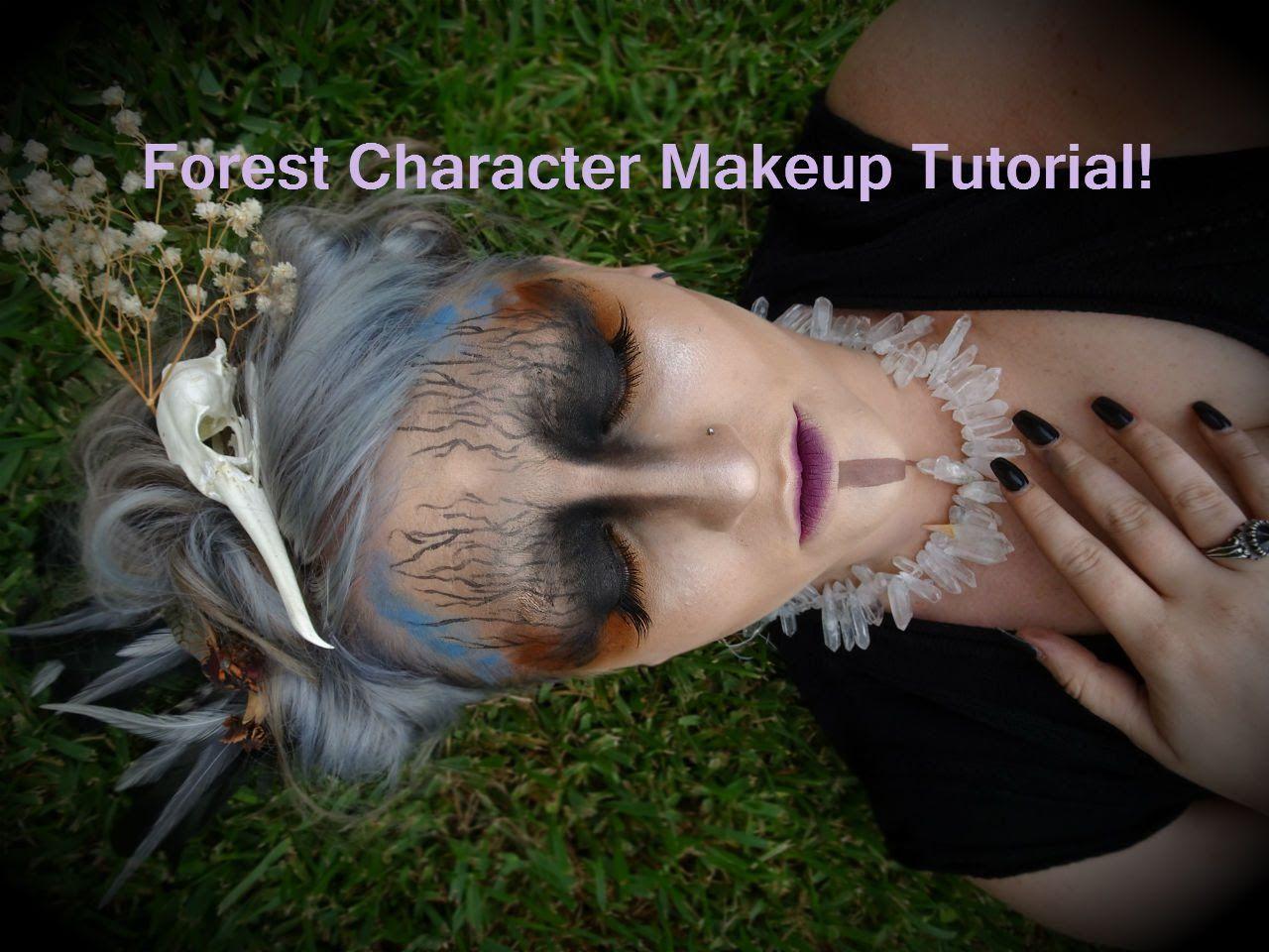 Forest character makeup tutorial grwm emma greaves dress up forest character makeup tutorial grwm emma greaves baditri Choice Image