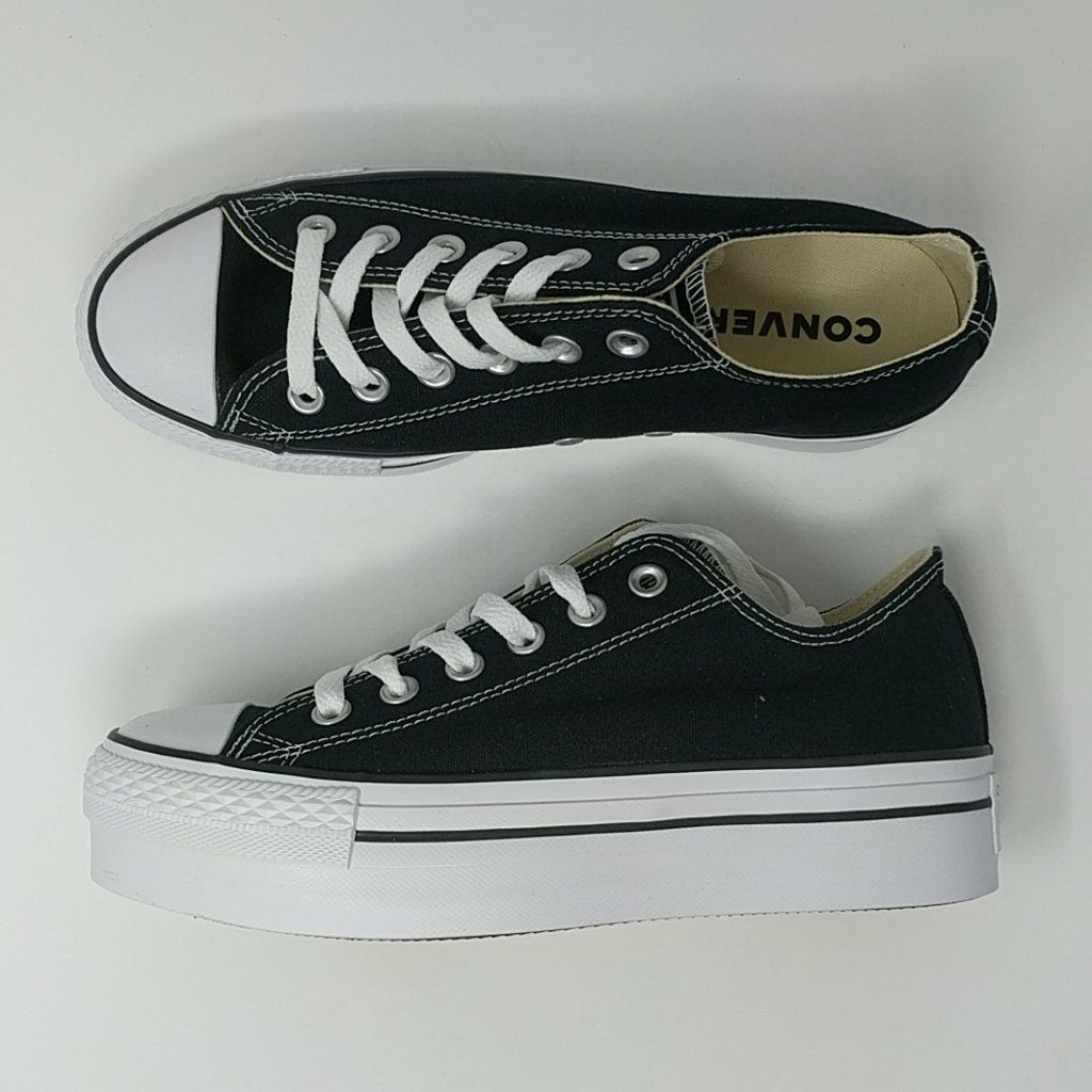 reputable site 9eb54 c1644 Converse Chuck Taylor All Star Low Platform Ox 540266F Canvas Women SZ –  LoneSole